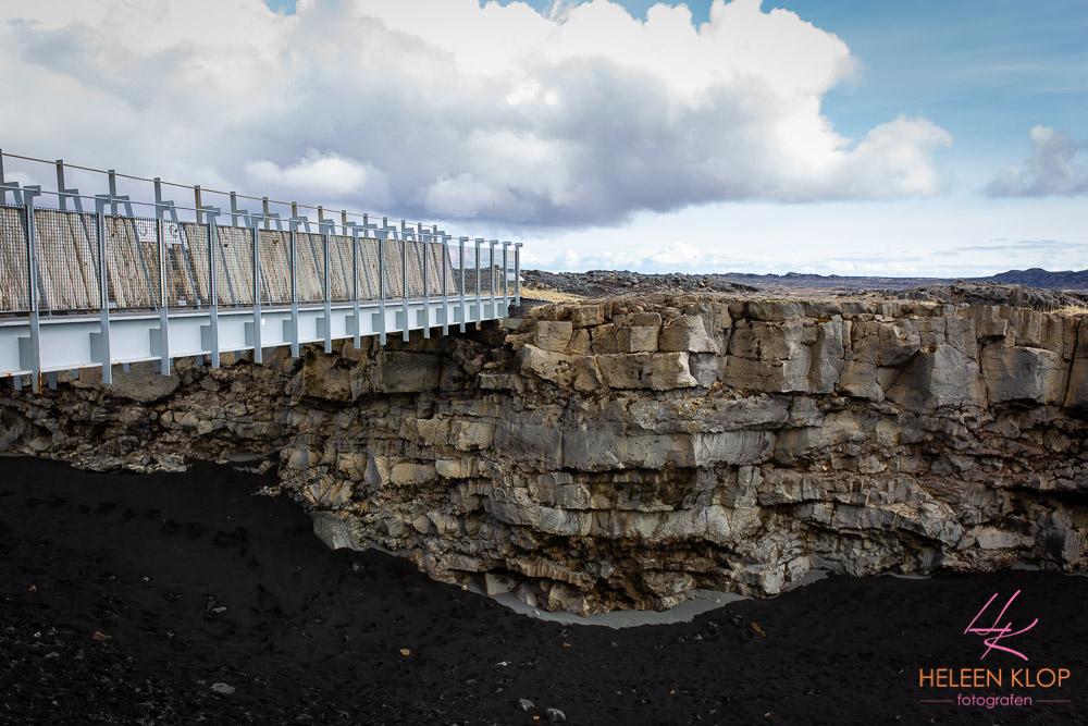 Brug tussen continenten IJsland