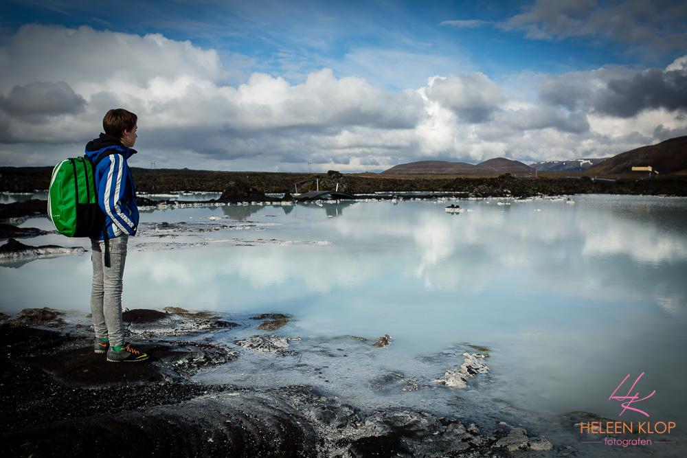 Geothermisch bad bij Grindavík