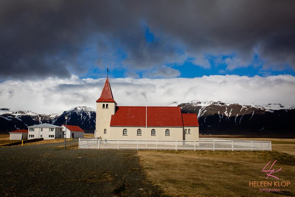 Kerkje Snæfellsness IJsland