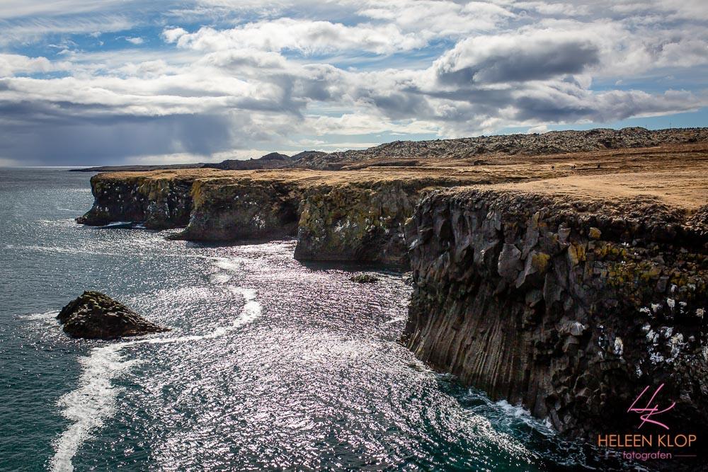 Kust bij Budir IJsland