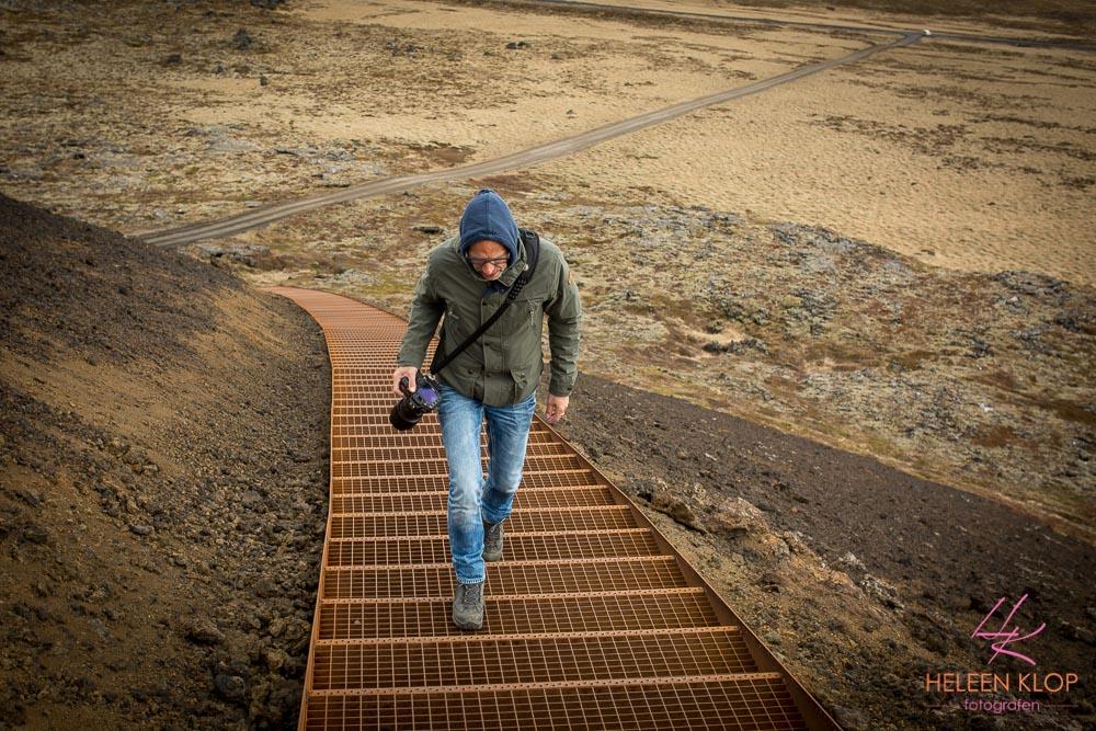 Trap Saxholl Krater IJsland