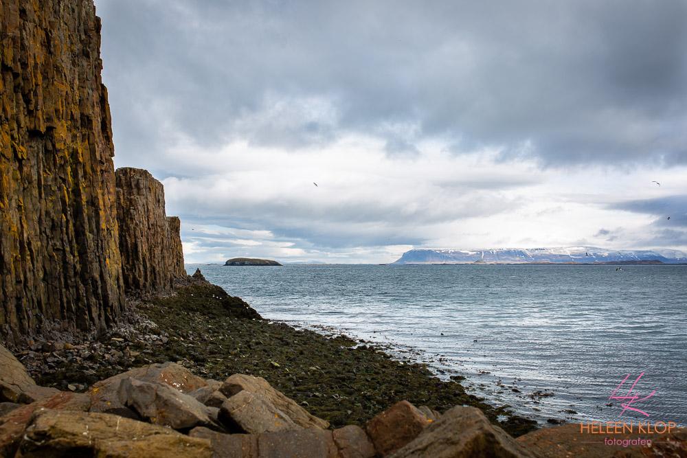 Kust bij Stykkishólmur, IJsland