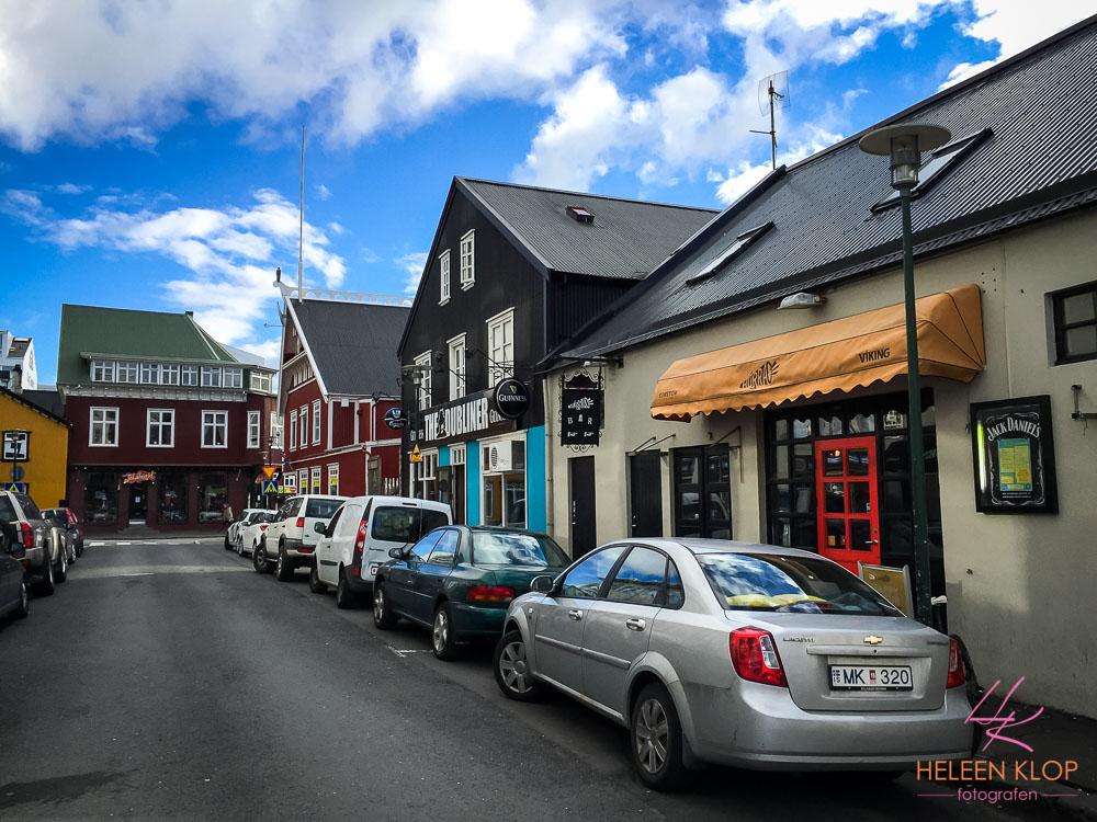 Straten van Reykjavik