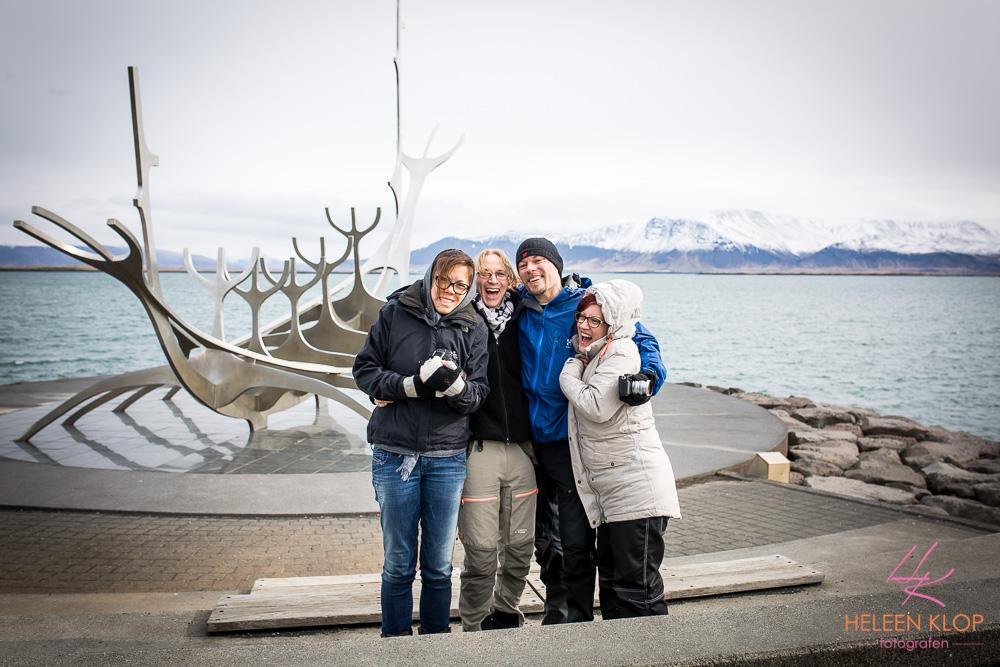 Sun Voyager met vrienden Reykjavik