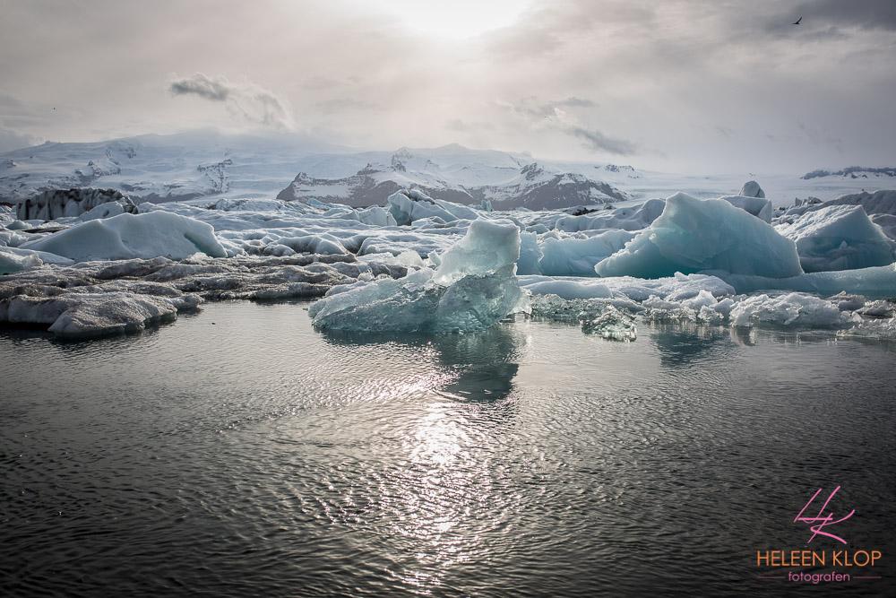 IJs lagoon IJsland