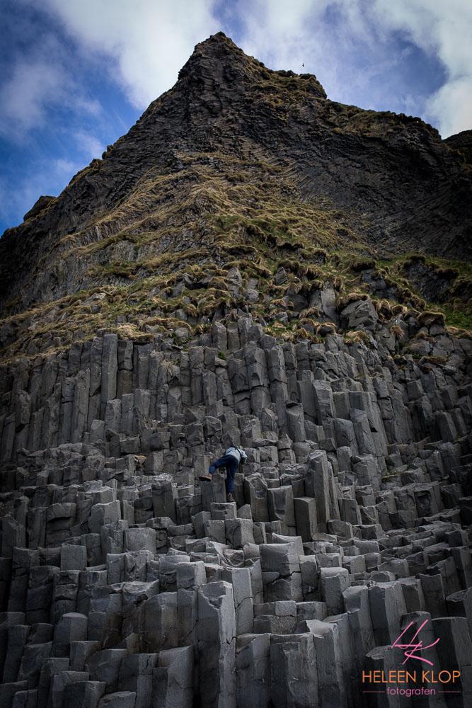 Basaltblokken bij Vik IJsland