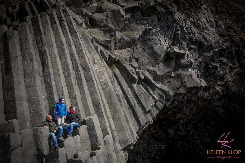 Family portrait Vik Iceland