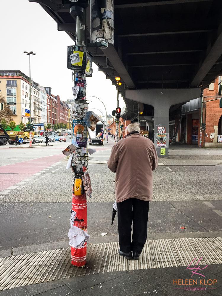 Brievenpost Op Verkeerslicht Berlijn