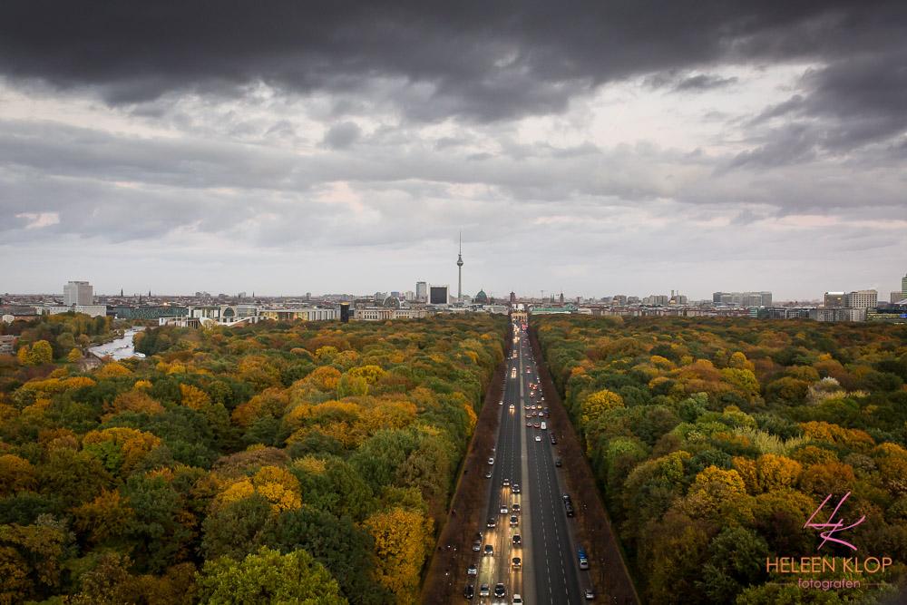 Uitzicht Van Oorlogsmonument Berlijn