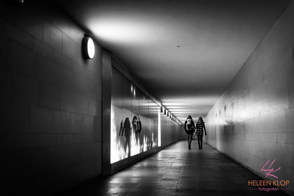 Tunnel Naar Siegessäule Berlijn
