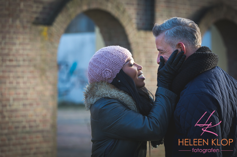 Loveshoot In Winter Utrecht 017