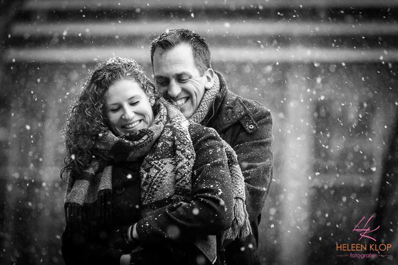 Loveshoot In De Sneeuw Op De Uithof 002