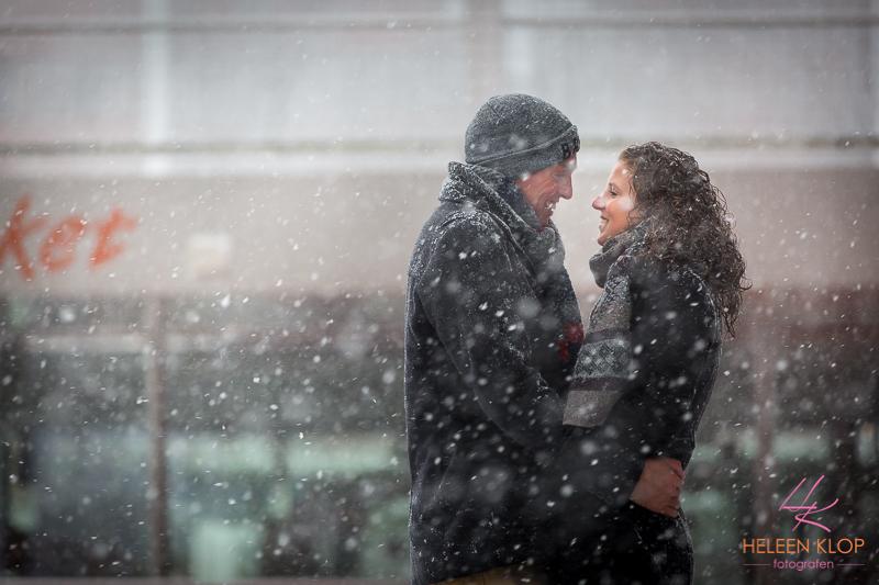 Loveshoot In De Sneeuw Op De Uithof 004