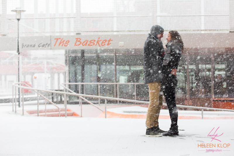 Loveshoot In De Sneeuw Op De Uithof 005