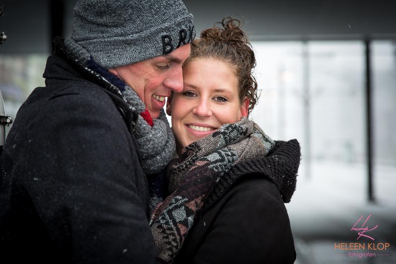 Loveshoot In De Sneeuw Op De Uithof 007
