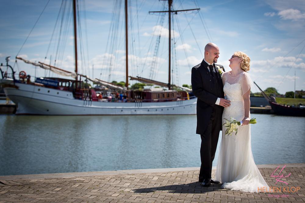 047 Bruiloft In Amsterdam En Lelystad Op De Willem Barentsz Zeilschip