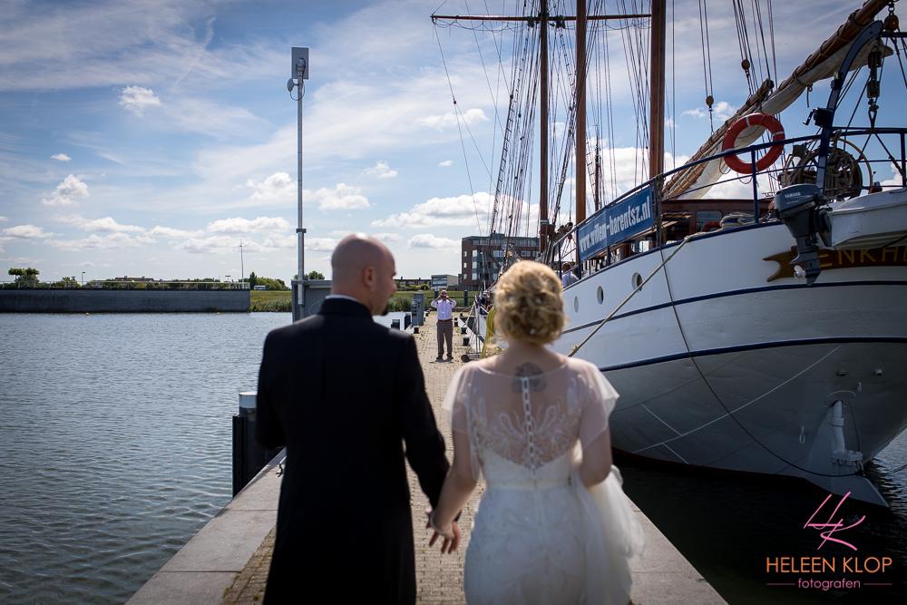 051 Bruiloft In Amsterdam En Lelystad Op De Willem Barentsz Zeilschip