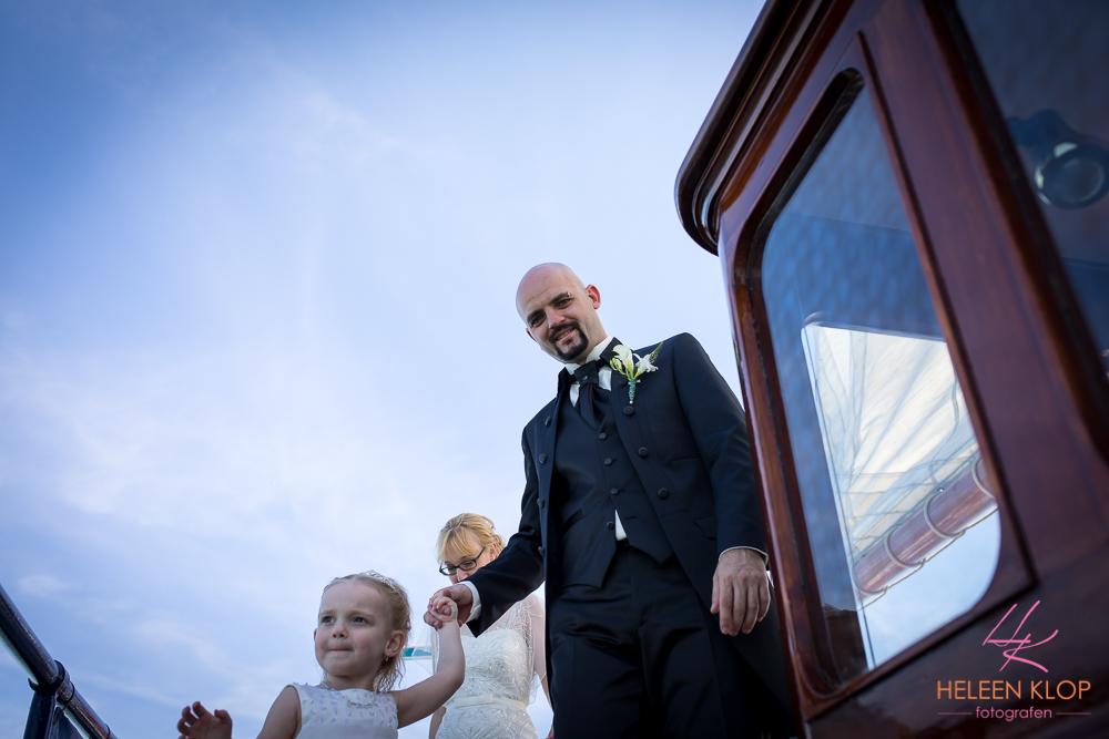 056 Bruiloft In Amsterdam En Lelystad Op De Willem Barentsz Zeilschip