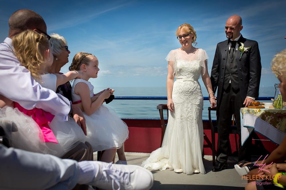 072 Bruiloft In Amsterdam En Lelystad Op De Willem Barentsz Zeilschip