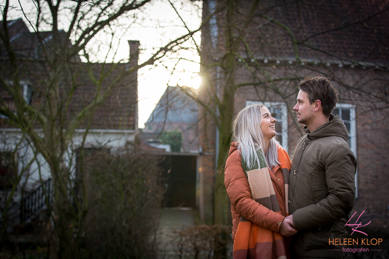 Winterse Loveshoot In Amersfoort 003