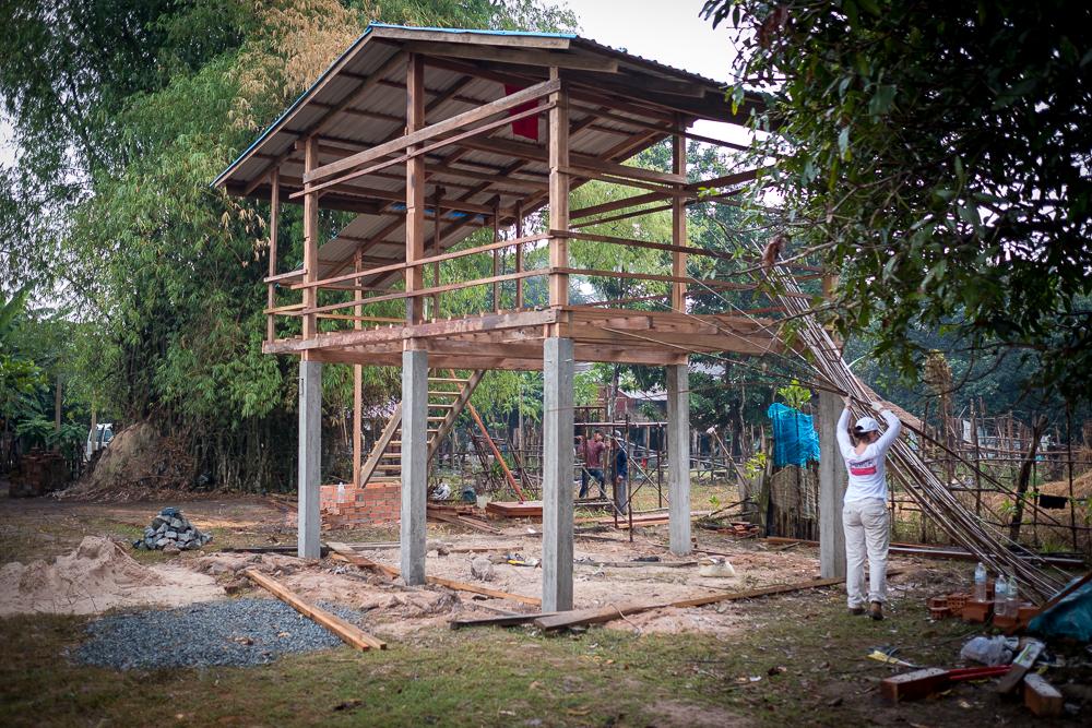 Bouwreis Habitat Cambodja 116
