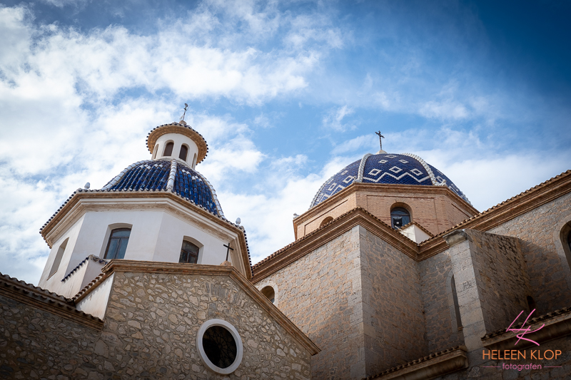 Kerk in Altea Spanje