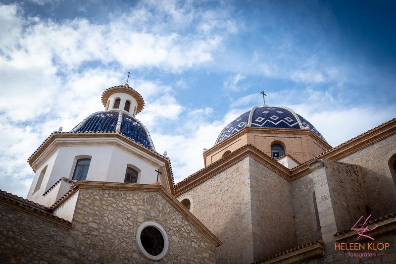 Kerk in Altea Spanje