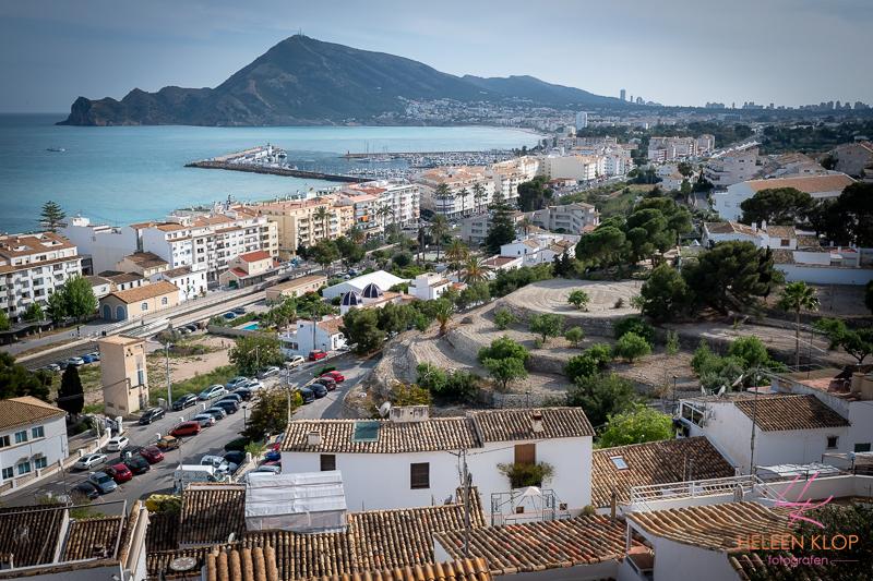 Uitzicht vanaf Altea Spanje