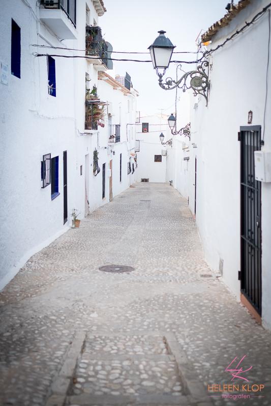Straten van Altea Spanje
