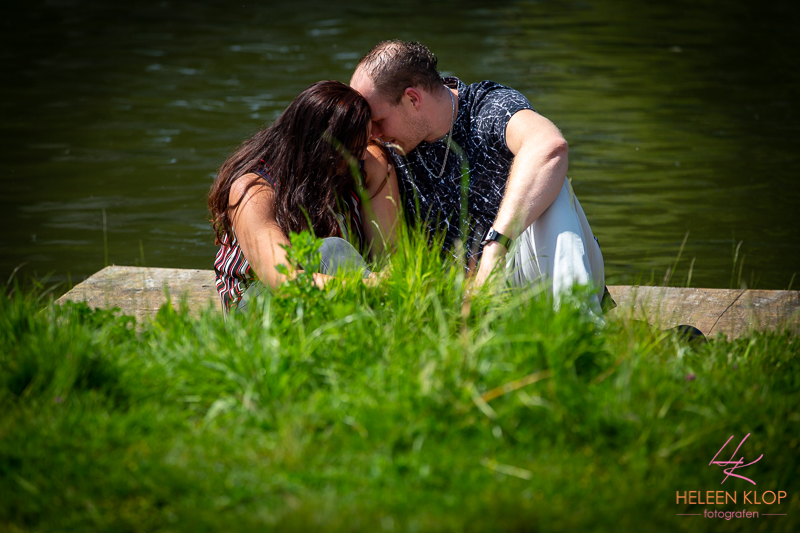 Zomerse Loveshoot In Utrecht