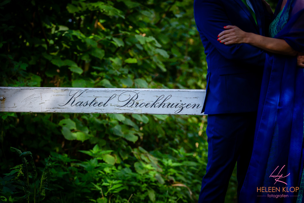 Bruidsreportage Kasteel Broekhuizen Leersum