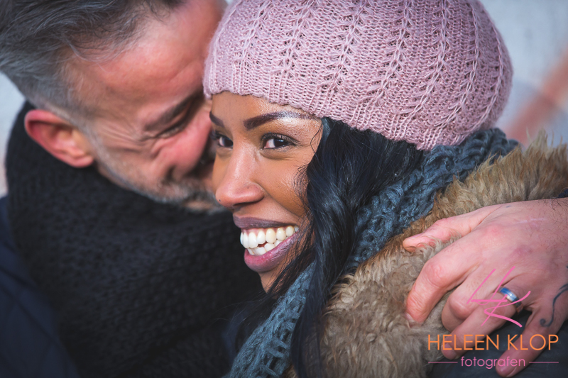 Loveshoot In Winter Utrecht