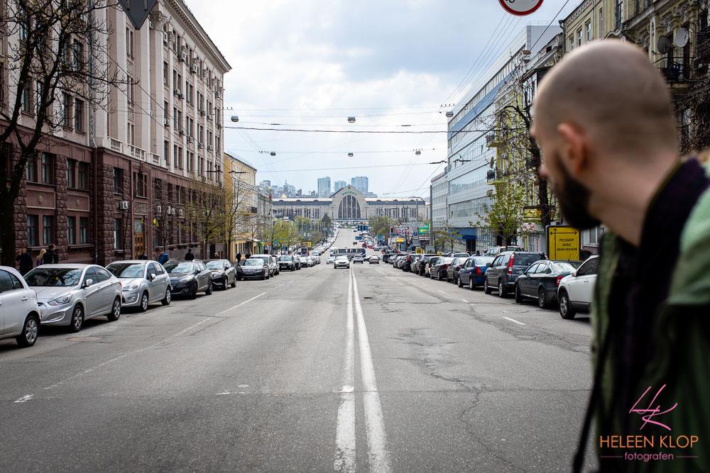 Brede straten van Kiev, station Kiev
