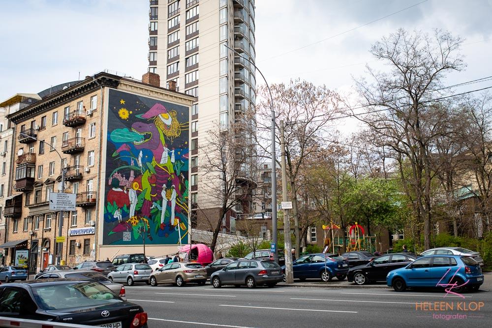 Murals in Kiev