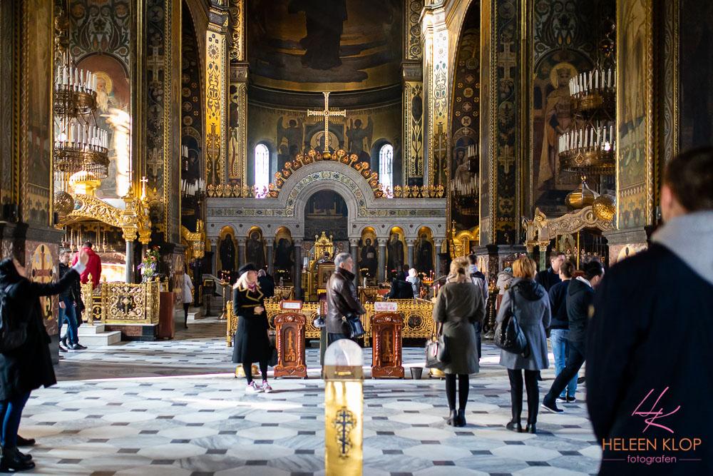 Binnen Detail Oekraïens-Orthodoxe Kerk