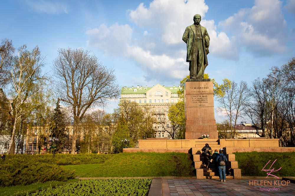 Standbeeld of Taras Shevchenko