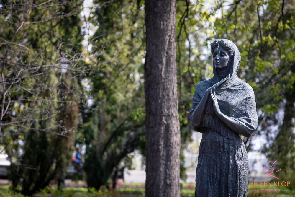 Standbeelden in Kiev
