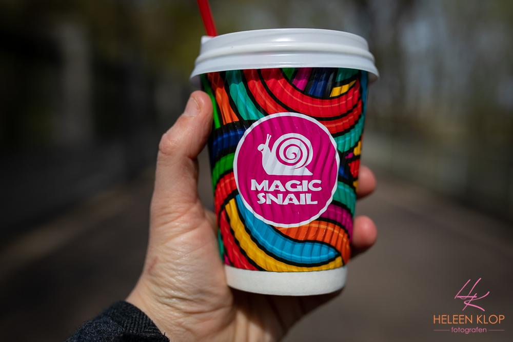 Lekkere Magic Snail Koffie Kiev