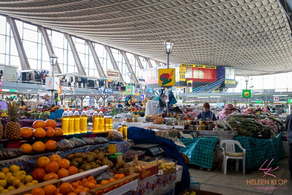 Indrukwekkend plafond van Markt