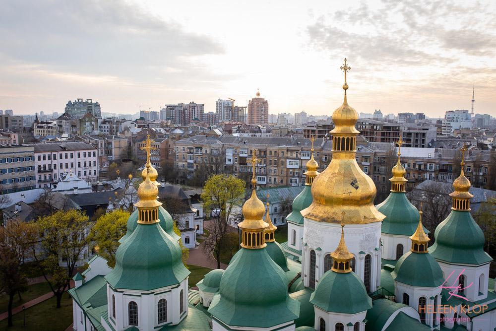 Uitzicht vanaf St. Sofiakathedraal