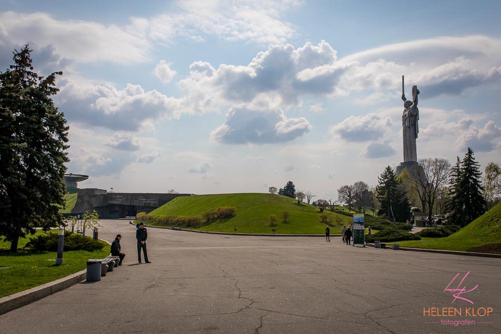 Standbeeld Motherland Kiev