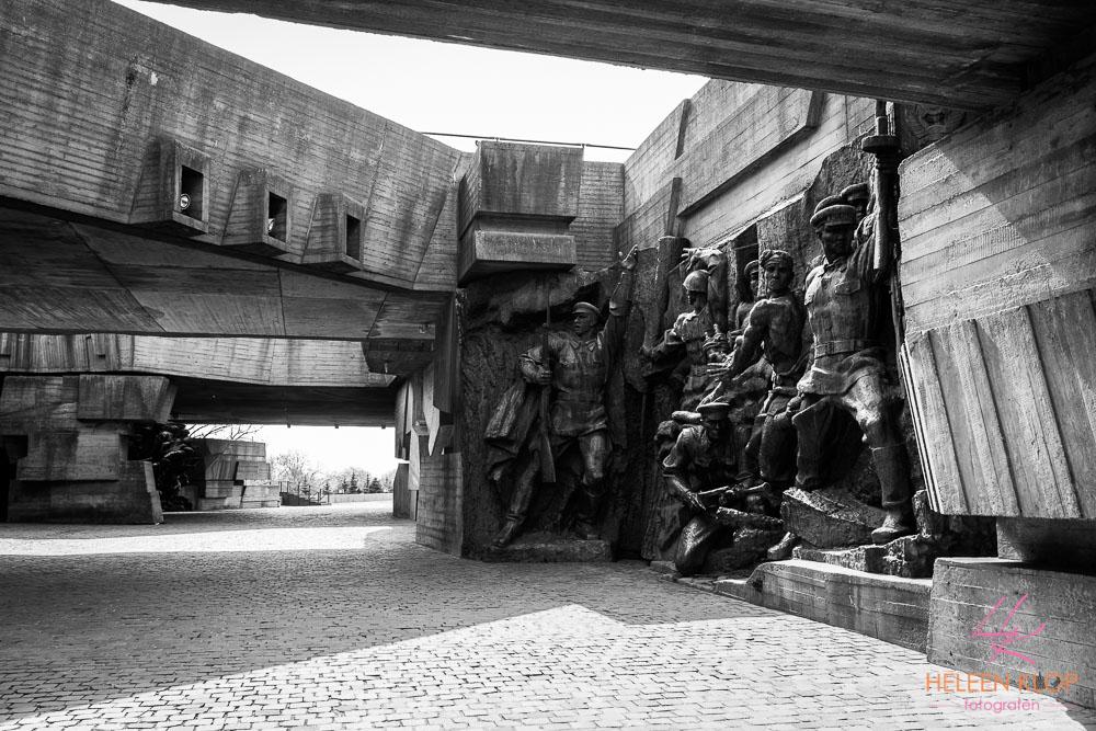 Bronzen beelden Kiev