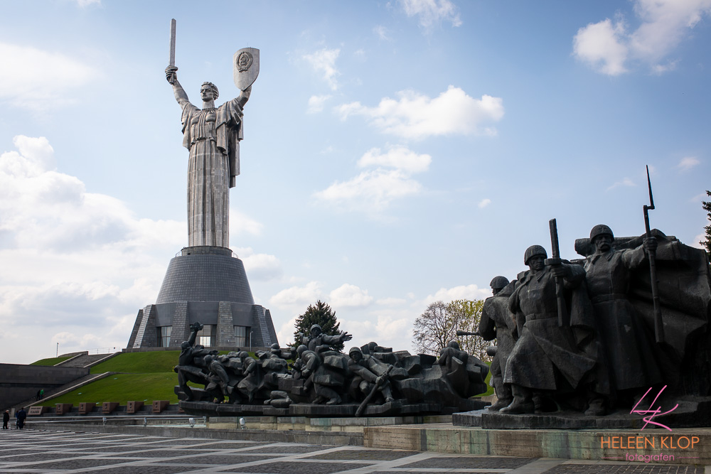 Moederland standbeeld