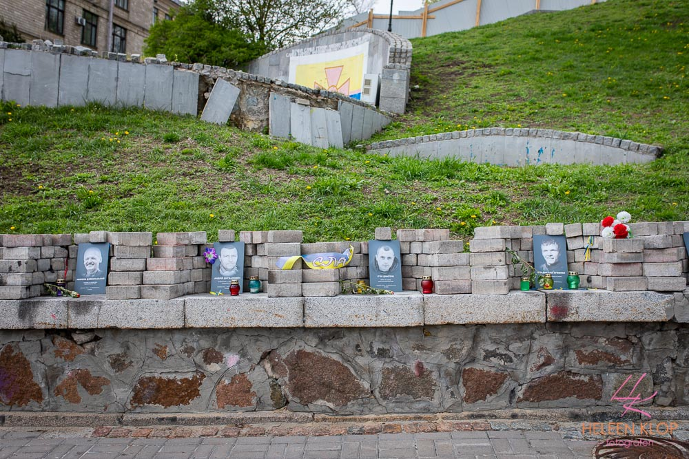 Herdenking opstand Maidan