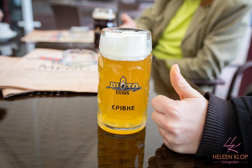 Goed bier in Kiev