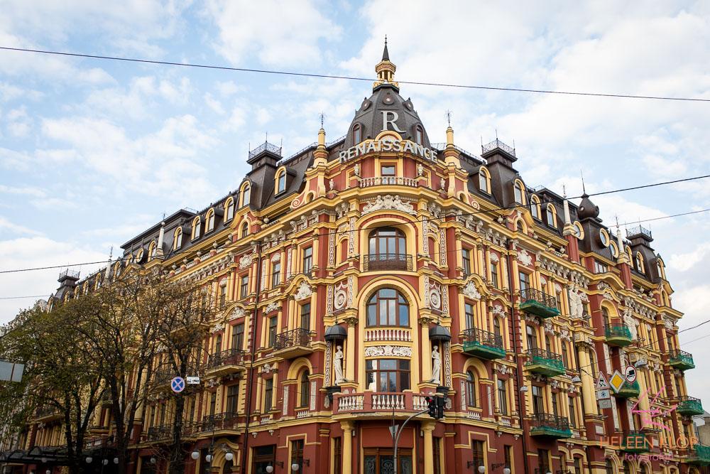 Mooie gebouwen in Kiev