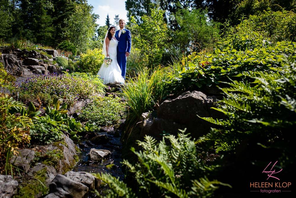 Bruidsreportage Bij De Botanische Tuinen