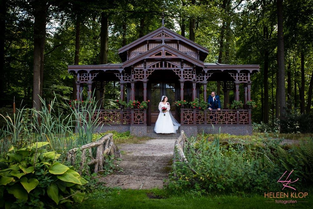 Bruidsreportage Bij Theehuis Paleis Soestdijk