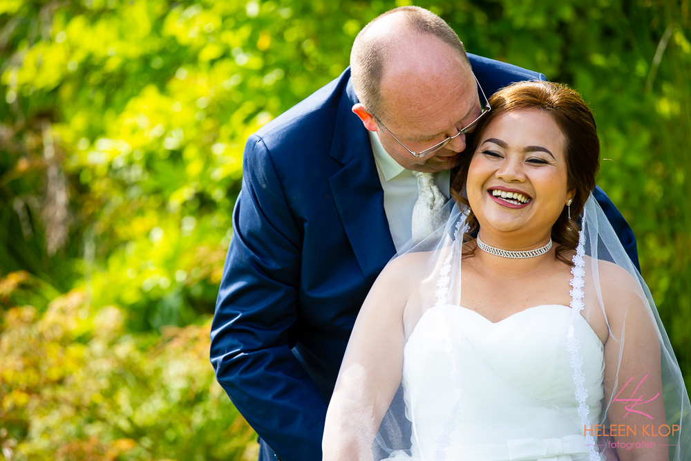 Bruidsreportage In Het Maximapark