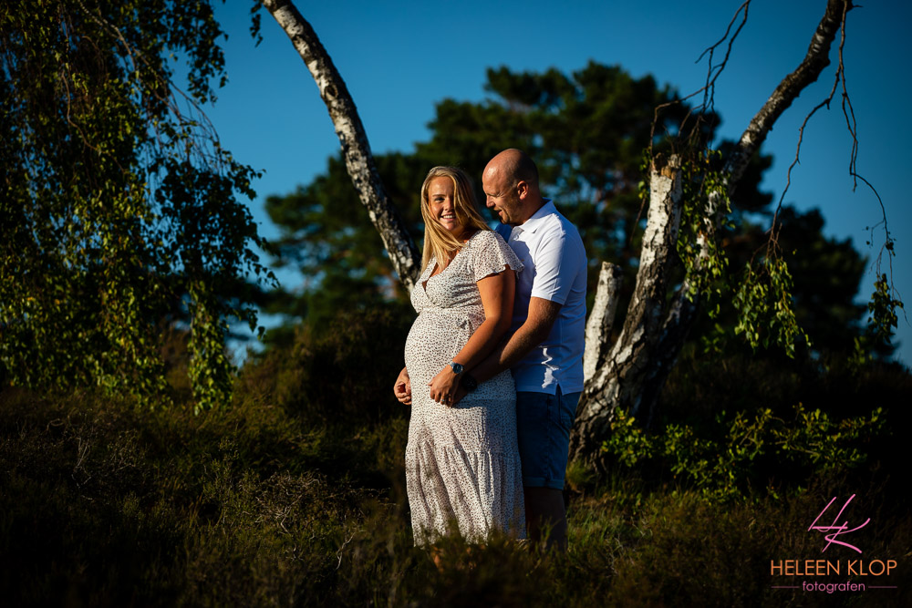 Zwangerschapsreportage Soesterduinen 1